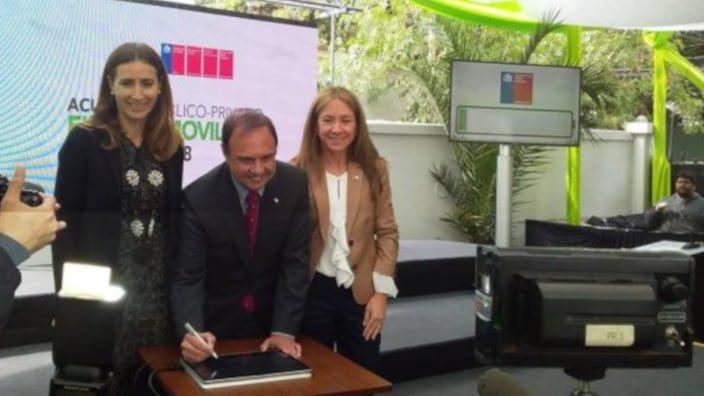 A 2040 el 100% del Transporte público en Chile será eléctrico