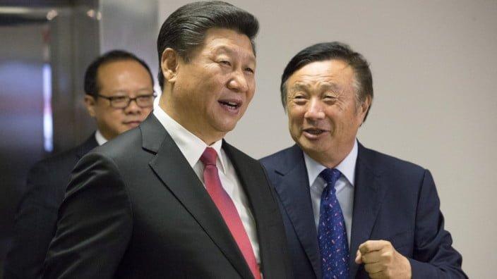 Huawei - Ren Zhengfei - Xi Jinping