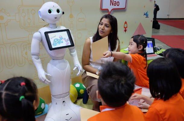 Robots - trabajo - inteligencia artificial