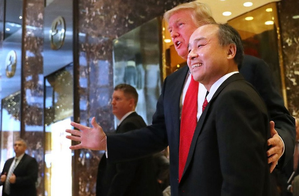 Sprint - Softbank - Masayoshi Son -Donald Trump
