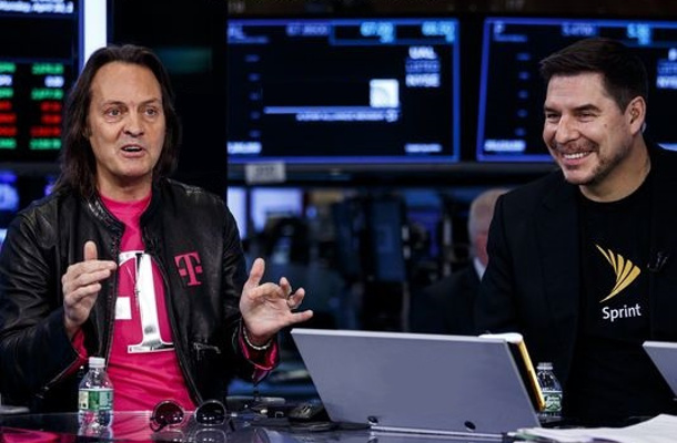 T-Mobile - Sprint - fusion - John Legere - Marcelo Claure