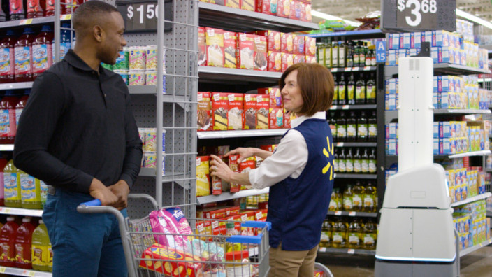 Walmart - Bossa Nova Robotics - Robot - Supermercados