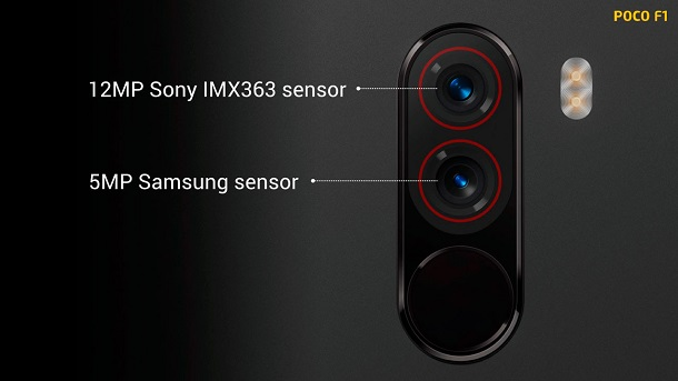 Xiaomi Pocophone F1 - Camaras
