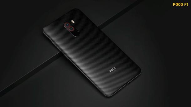 Xiaomi Pocophone F1 - trasera