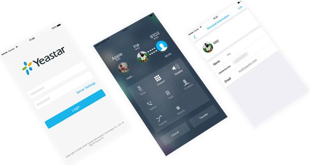 Yeastar - Linkus - Cliente VoIP movil
