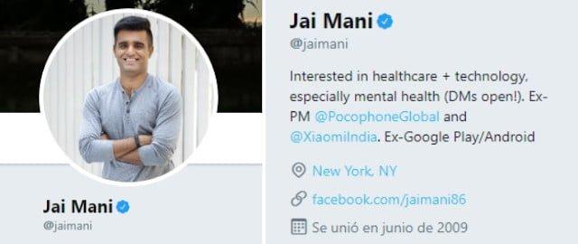 Xiaomi - Jai Mani