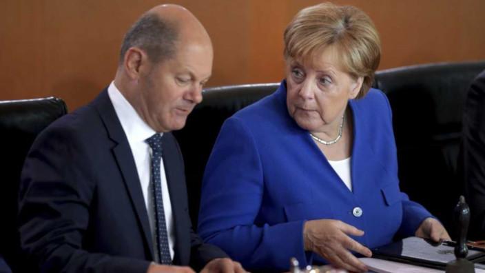 Angela Merkel - Olaf Scholz