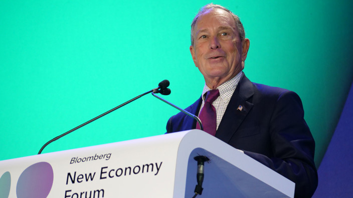New Economy Forum 2019 - Michael Bloomberg