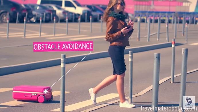Travelmate Robotics - maleta robot