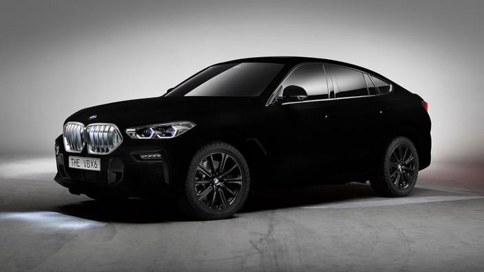 BMW VBX6 - Vantablack
