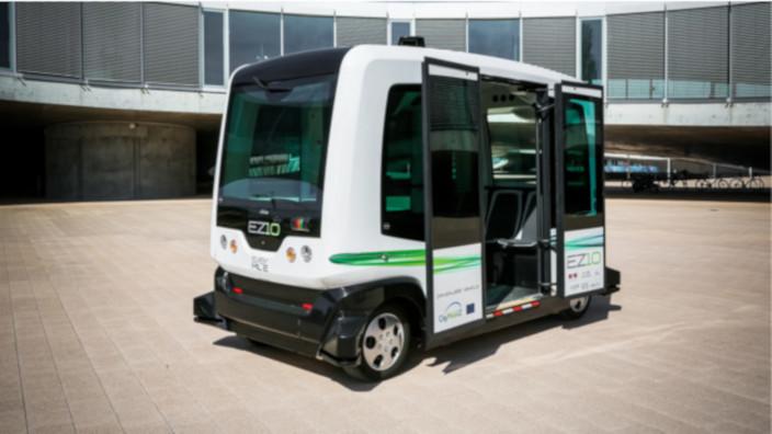 EasyMile - Chile - Minibus Autonomo