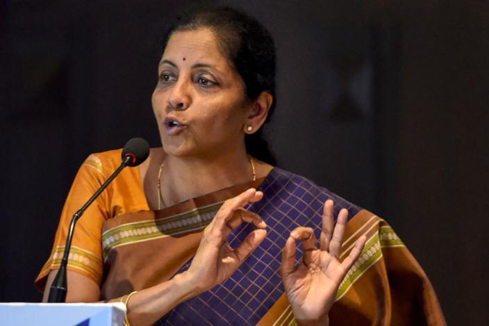 Facebook - Libra - India - Nirmala Sitharaman