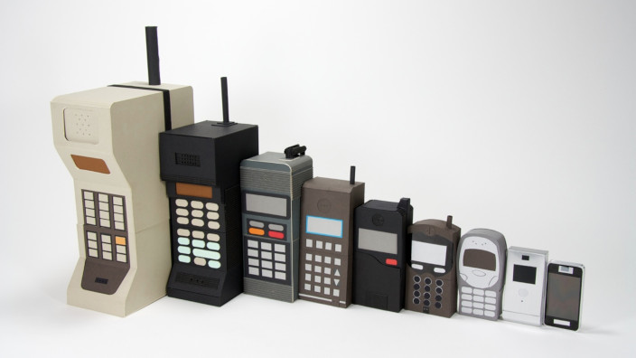 Smartphones historia