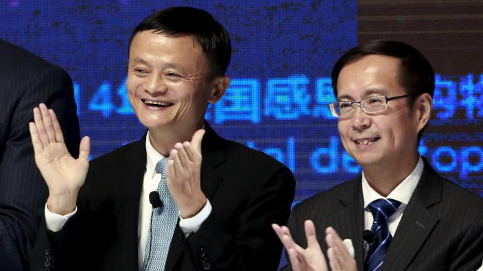 Alibaba - Jack Ma - Daniel Zhang