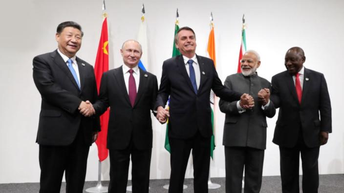 BRICS - Xi - Putin - Bolsonaro - Modi - Ramaphosa