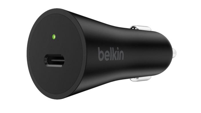 Belkin - Cargador de Auto USB-C