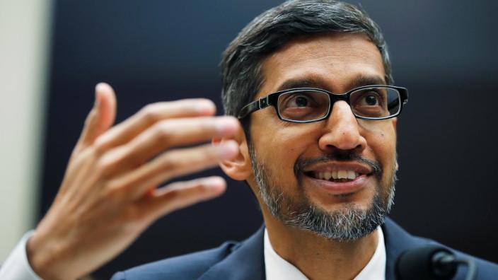 Google - Sundar Pichai - banco