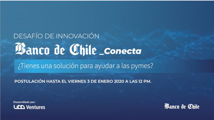 Banco de Chile y UDDV - Desafio Innovacion Conecta
