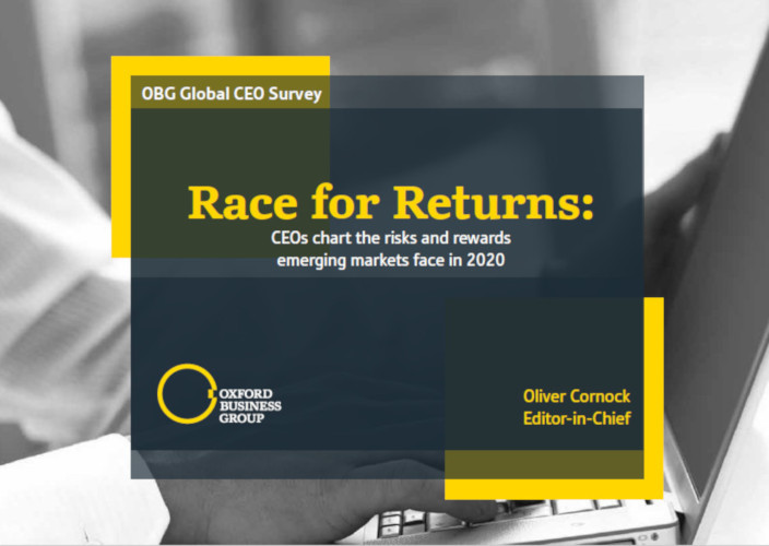 OBG - Oxford Business Group - Global CEO Survey 2020