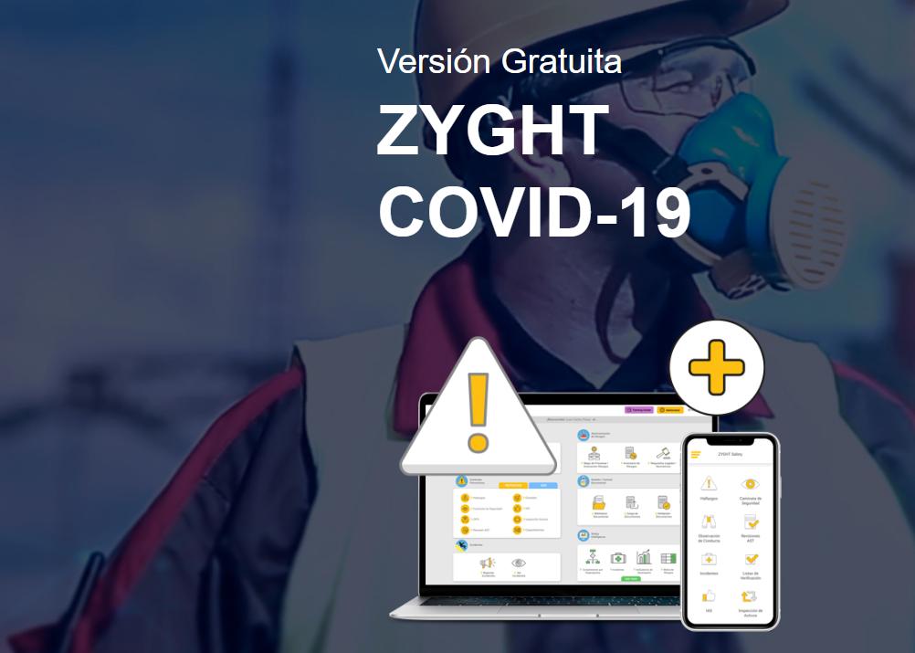 Zyght - app para Prevenir Contagio del Coronavirus