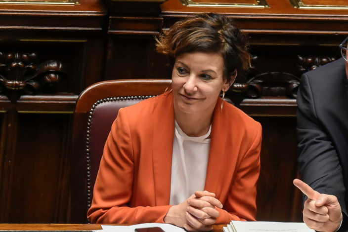 Paola Pisano, ministra de Innovacion de Italia