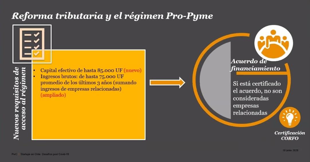 PwC - Reforma Tributaria y régimen proPYME