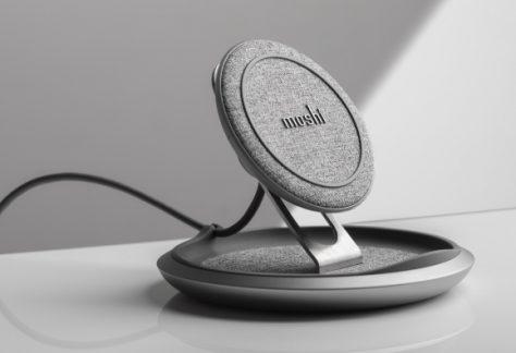 Moshi presenta su cargador inalámbrico Lounge Q con carga rápida