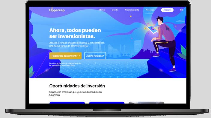 Levantamiento de capital 100% online para proyectos de diversos rubros