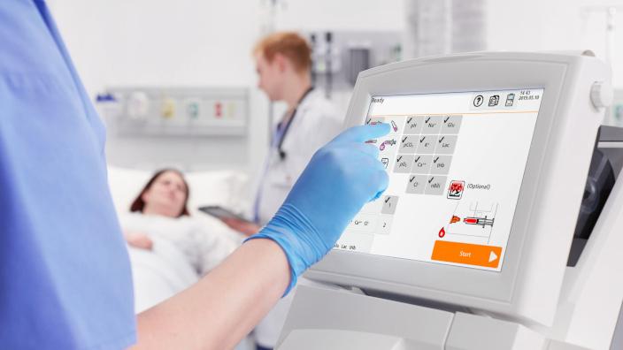 El análisis rápido de gases en sangre es una herramienta vital para tratar pacientes con COVID-19