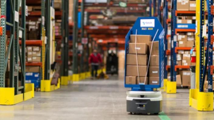 Pisos en centros logísticos ¿están listos para los robots?