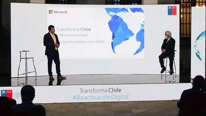 Microsoft anunció red de datacenters en Chile con 50.000 nuevos empleos