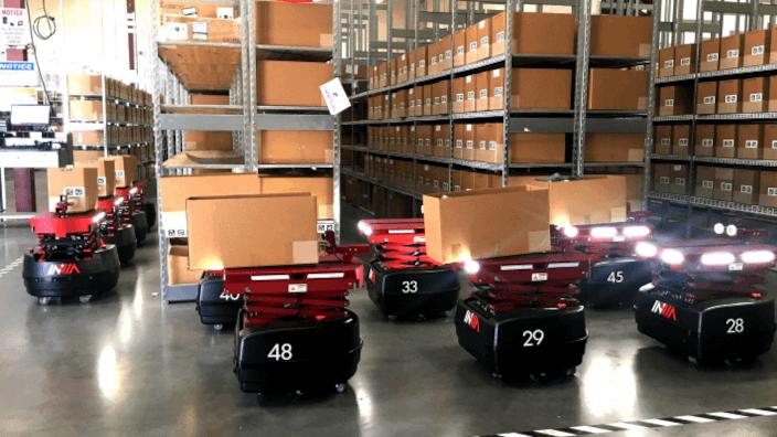 Innovando la logística con Inteligencia Artificial y robots autónomos