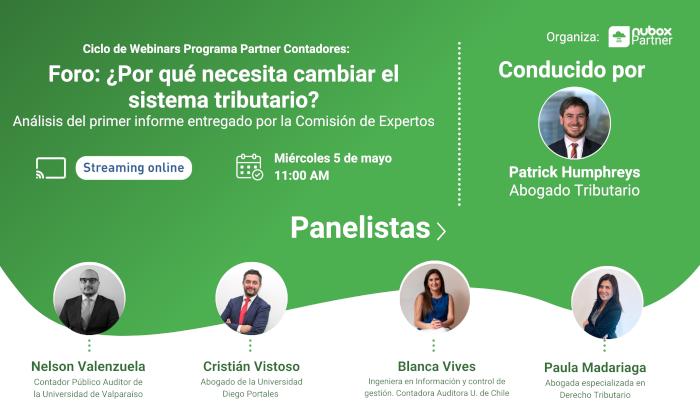 Expertos debatirán sobre los cambios que debe considerar un nuevo sistema tributario para Chile