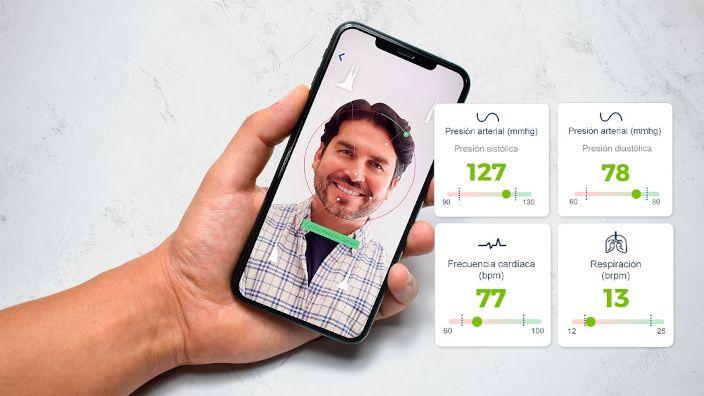 primera solución en Latinoamérica que mide en 30 segundos los signos vitales desde el celular