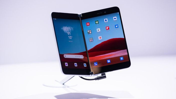 Microsoft presenta su smartphone Android Surface Duo