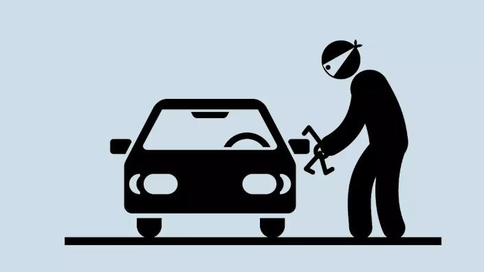 2021 inicia con más de 1.000 autos robados